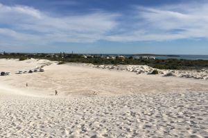 #mobilechallenge white sand dune sunny beautiful cloud sea green #outdoorchallenge sand