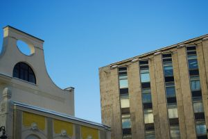 modern build constructivism outdoor street moscow