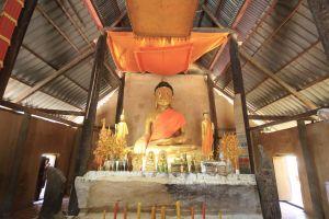 monument blue sky laos buddhism lao national museum pha religious