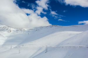 morocco snow cold mountain