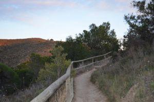 mountain landscape dirt road