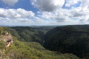 mountains vista australia lookout blue mountains valley