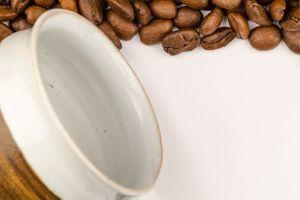 natural dark bean caffeine freshness textured background roasted white aroma