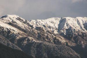 nature landscape snow scenic cold mountain