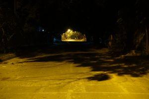 night roads night lights