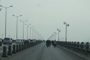 outdoor road traffic bridge