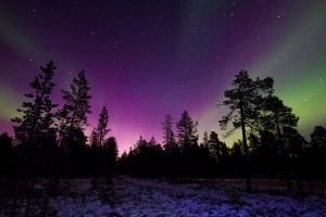 outdoorchallenge dark atmosphere stars planet nightscape astronomy northern lights aurora borealis surreal
