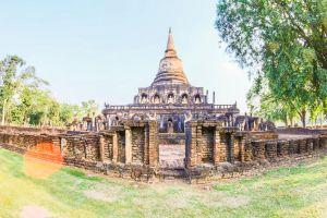 pagoda statue buddhist historical wat world ancient asian asia history