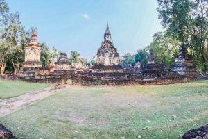 park sukhothai building history chang wat ruin thailand sri buddhist