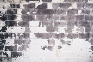 pattern building solid stone wall dirty rustic brickwork background concrete structure