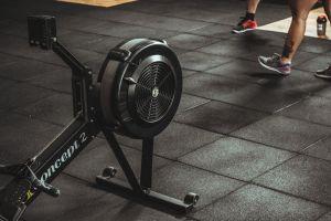 people equipment fitness indoors