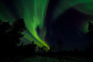 planet nightscape atmosphere aurora borealis astronomy stars northern lights night sky space dark
