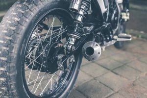 racer sport biker chopper journey freedom action cross competition black