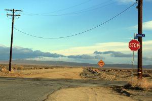 road dead end stop