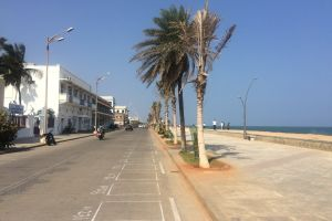 road mobilechallenge blue sky tree sea rock beach vehicle street beach india