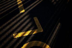 road road marking light dark