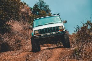 road wheels automobile mud muddy 4x4 jeep soil offroad dirt road