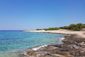 rocks ocean beach