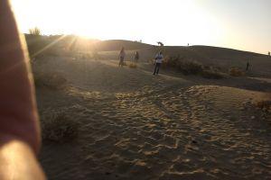 sand dune evening sun sand desert