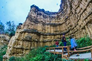 scenery landmark chiangmai cliff woods geology southeast attraction erosion rock