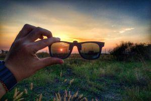 shades #mobilechallenge sunglass sunset mobilechallenge
