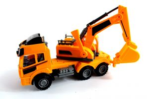 small heavy lorry transportation car industrial childhood isolated object industry