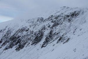 snow snowdonia winter mountain
