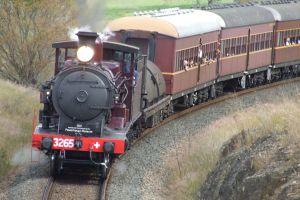 steam trains railway steampower heritage steamfest
