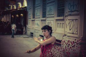 street artist milano performance street art city