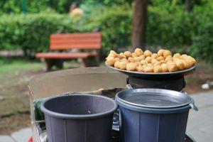 street bucket india delhi street food