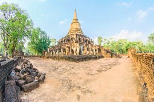 structure thailand world tourism vacation exotic sri chang wat heritage