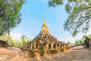 stupa religion world sri structure vacation architecture sculpture ruin ancient