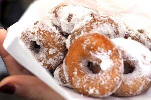 sugar snack food truck food market donuts