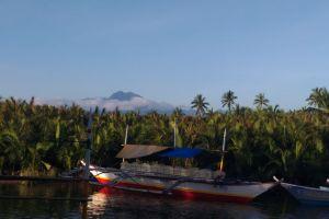 summer boat landscape