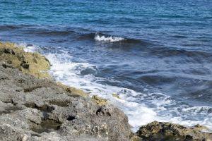sunny day desktop wallpaper italy blue sky sea sun green sea desktop backgrounds rocks