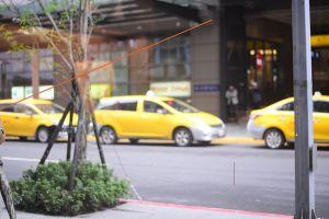 taipei sidewalk street person walking woman