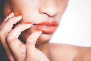 teeth skin lips studio pretty girl photoshoot detail beauty color