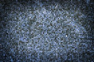 textile tiles linen pattern close-up blue material surface ceramic wall
