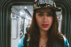 trains city people station model indoors vehicle hat commuter sexy
