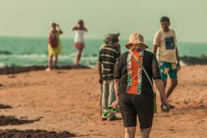 travellers ocean beach