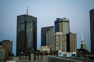 urban modern daytime cityscape contemporary daylight offices city buildings skyline