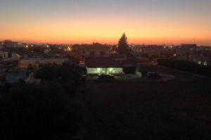 village evening sun night xylotymbou cyprus sunset neighborhood