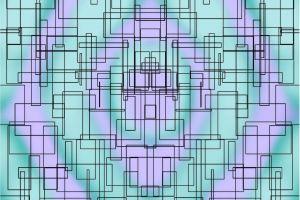 violet green hypnotize boxes background background image tech