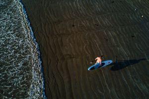 water sports beach surf sport shadow surfboard waves fun adult surfer