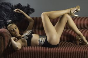 wear studio indoors adult fashion glamour model lingerie pose furniture