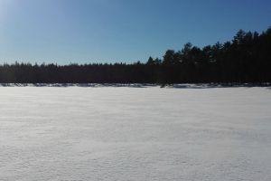 winter frozen lake winter wonderland winter landscape snow