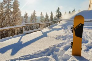 winter wonderland winter yellow winter sports snowboard snow winter landscape sun snow capped mountain winterwonderland