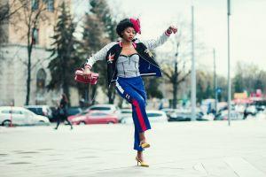 woman female outdoorchallenge female model person model photoshoot pose fashionable lady