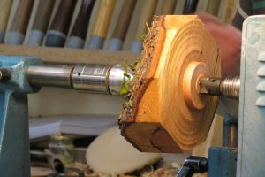 wood woodturning green wood