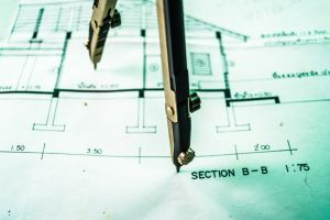 working engineer plan plotter wood office cad drawing architectural plumbing